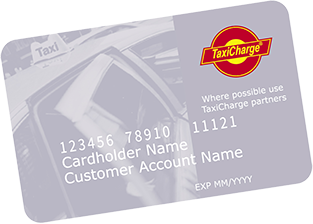 TaxiCharge payment card