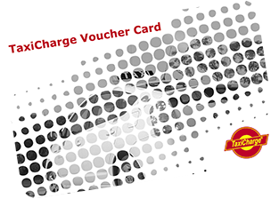 TaxiCharge Vouchers and cards